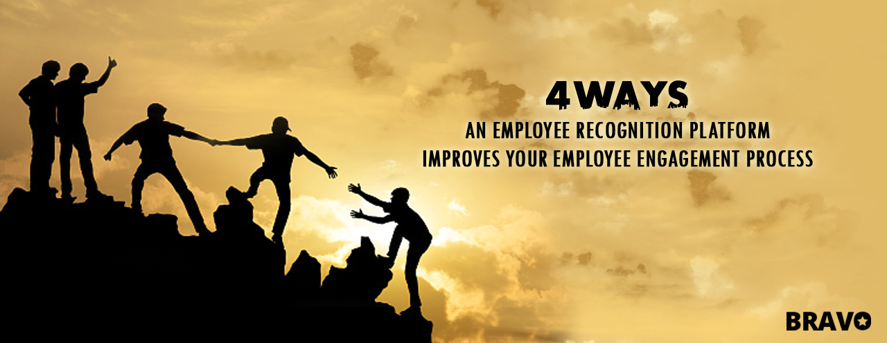 4 ways an employee recognition platform improves your employee engagement process